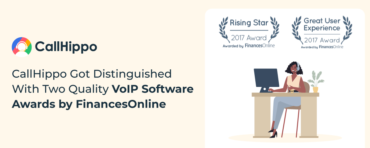 CallHippo-Got-Distinguished-With-Two-Quality-VoIP-Software-Awards-by-Finances-Online