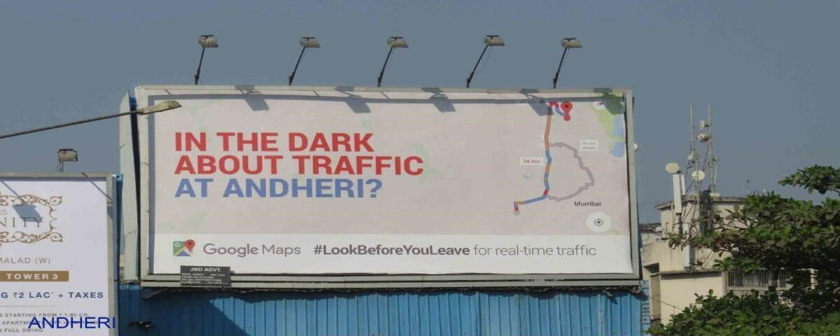 Google Maps Billboard