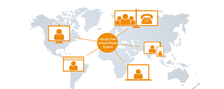 hassle free virtual phone system CallHippo