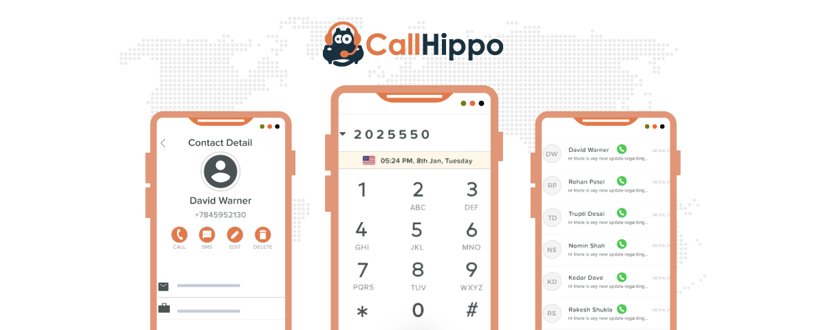Working of Stand-alone dialer with CallHippo Virtual telephone system