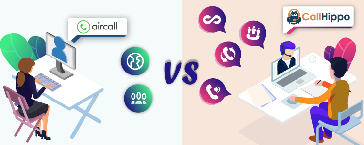 Best VoIP Phone System CallHippo Vs Aircall-CallHippo