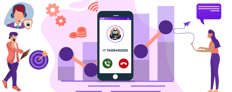 CallHippo - Virtual phone number