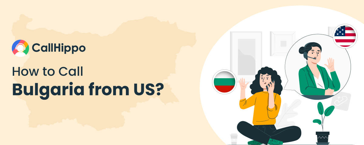 How to call bulgaria from US