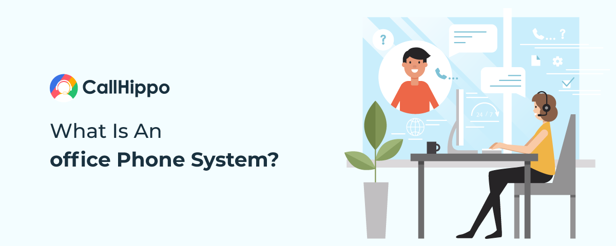 What is an office phone system