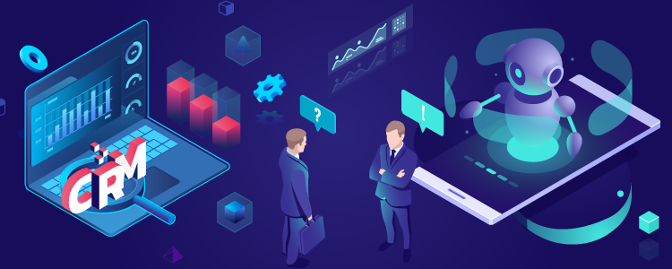 CRM software transformation through AI
