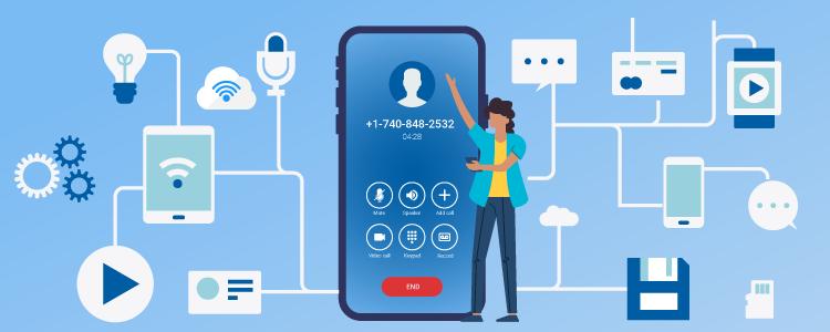 Internet phone number