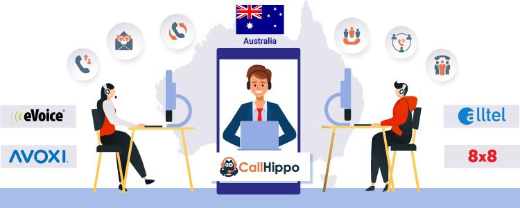 Australia virtual phone number - CallHippo