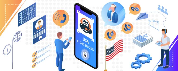 US virtual phone number-CallHippo
