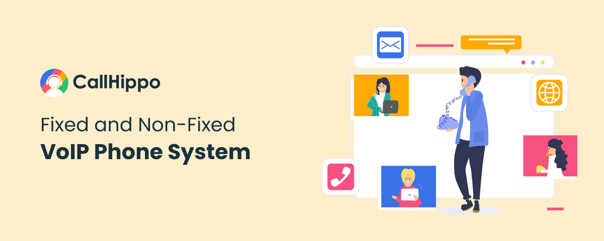 Fixed and Non Fixed VoIP Phone System