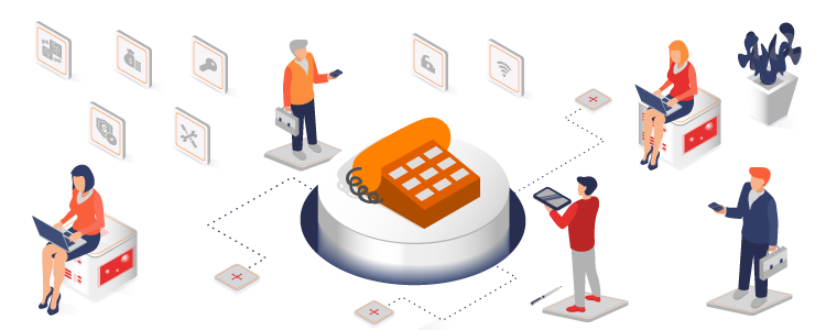 Pros and Cons of Implementing Hosted Phone Systems For Your Business