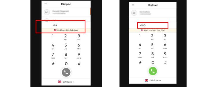 Quick Dialing Process