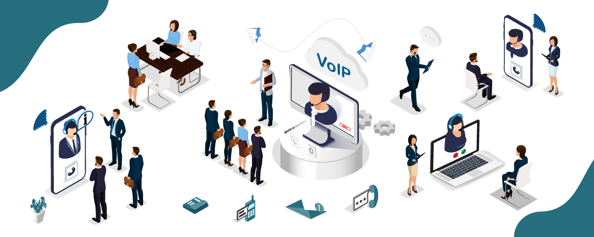 Increase your employees productivity with remote working and voip