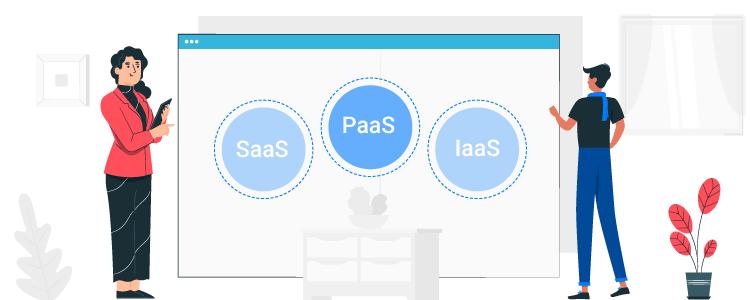 SaaS, PaaS and IaaS