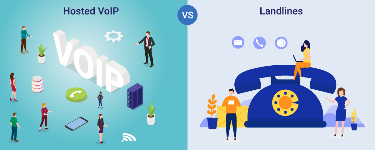 Why Hosted VoIP Holds An Edge Over Landline Phone Systems?