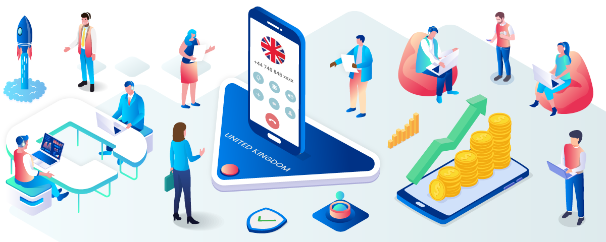 Invest In A UK Phone Number To Gain A Strong Competitive Edge