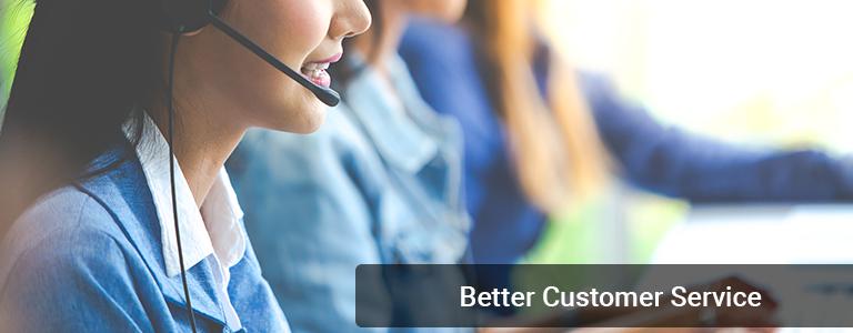 better customer services