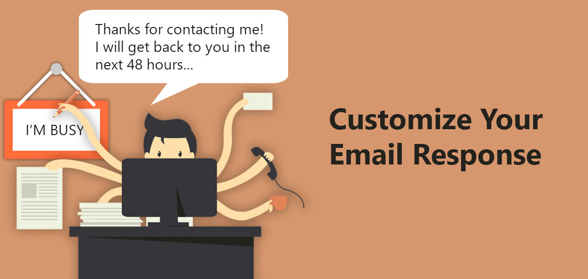 Auto email reply system