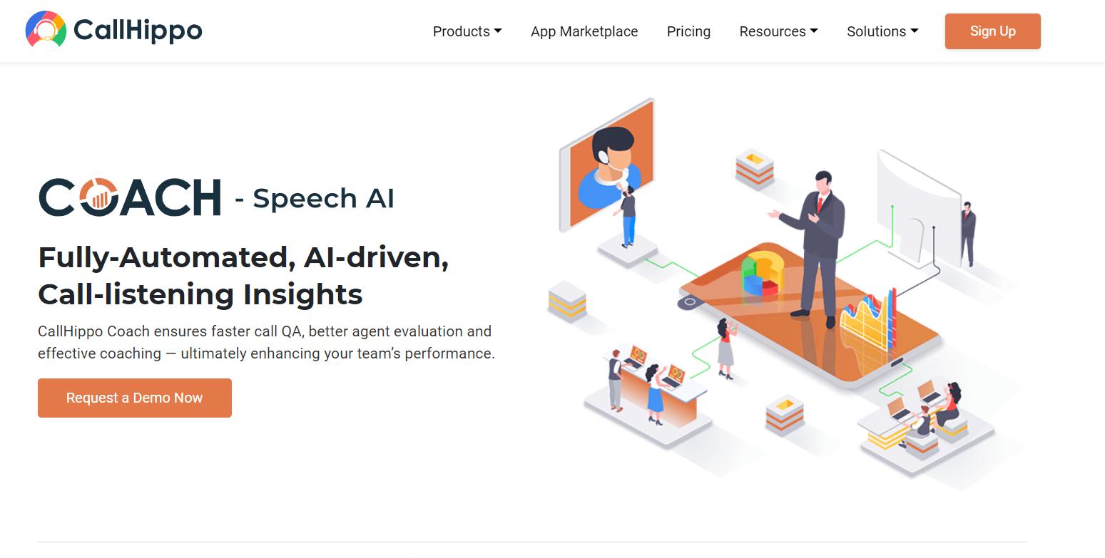 callhippo, conversation intelligence software
