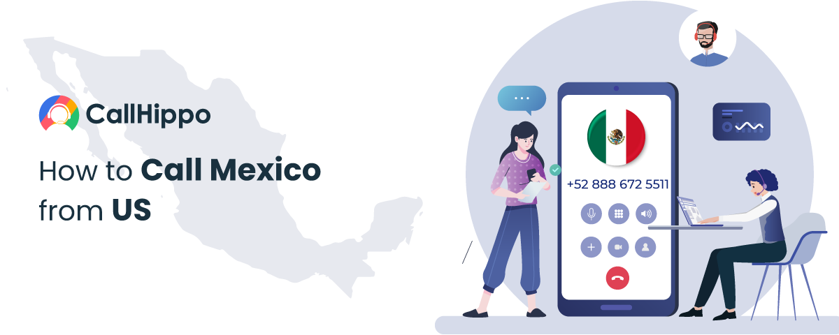 how to Call Mexico from US