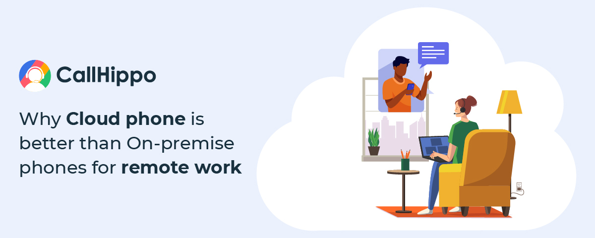 [INFOGRAPHIC] Cloud phone Vs On-premise phones for remote work