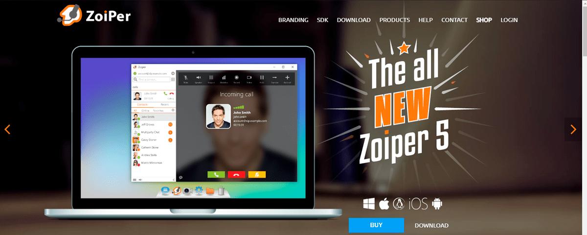 Zoiper Virtual phone numbers providers in India