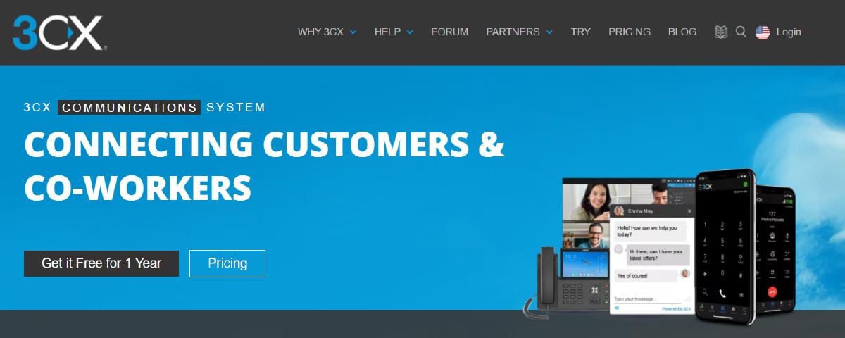3cx - contact center software