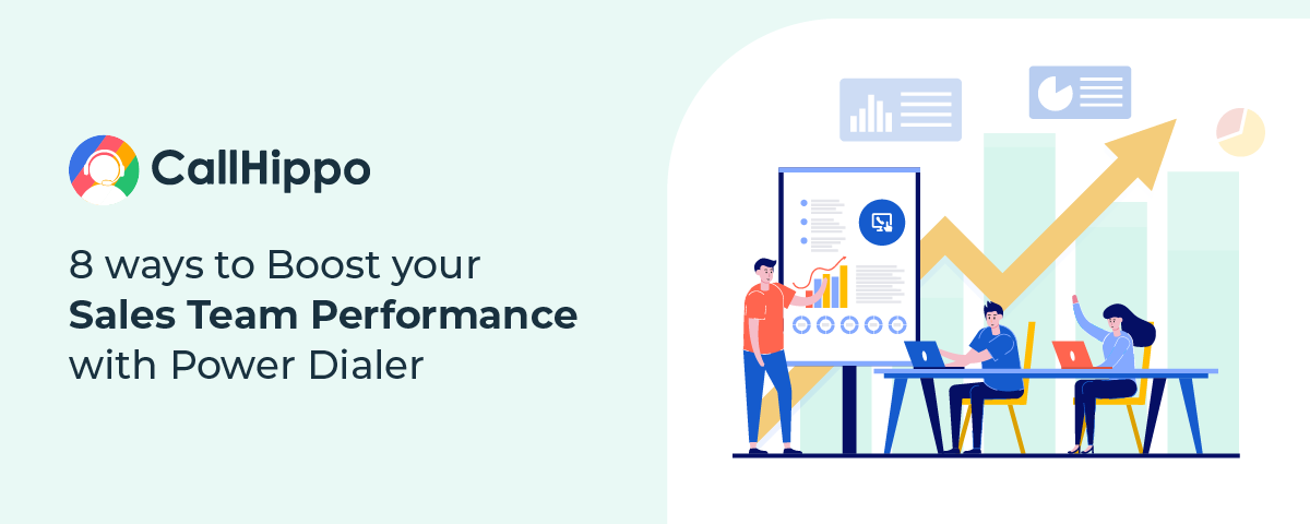 [Infographic] 8 Ways to Boost Your Sales Team Performance with Power Dialer