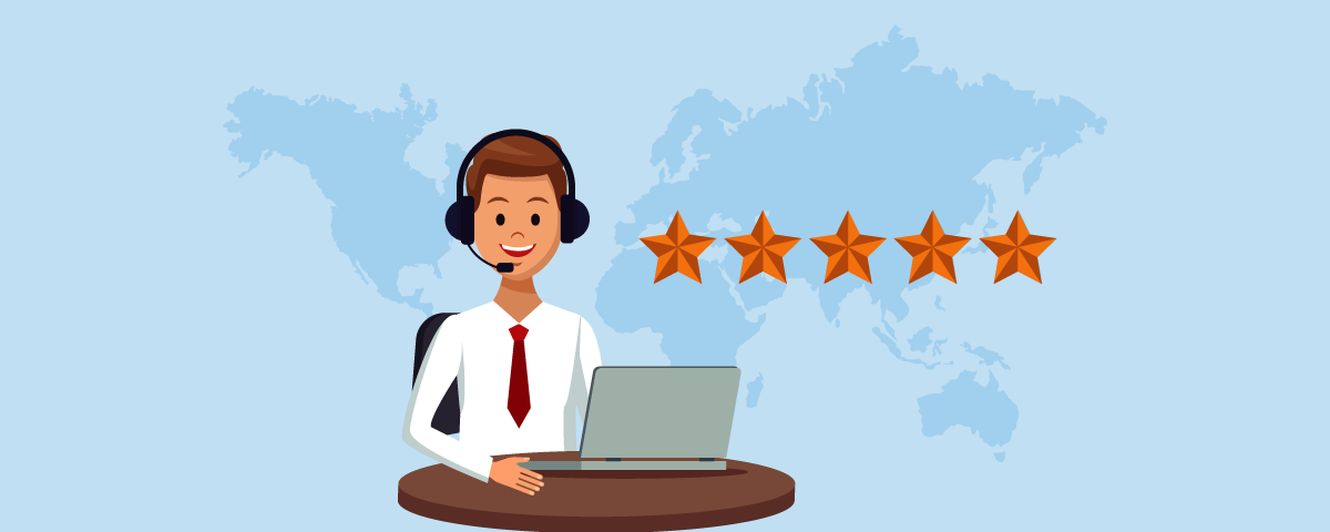 Excellent call quality with International phone number
