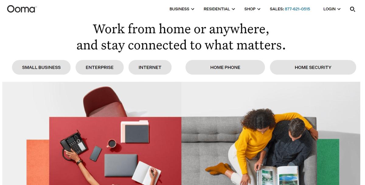 Ooma virtual phone number provider in Australia