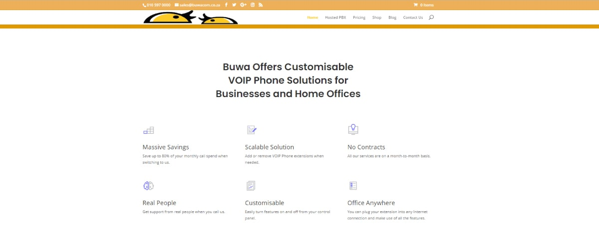 Buwacom Virtual Phone Number Providers in South Africa