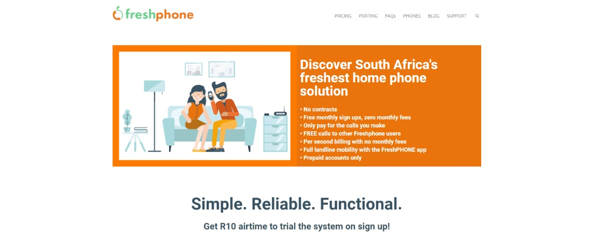 Freshphone Virtual Phone Number Providers in South Africa