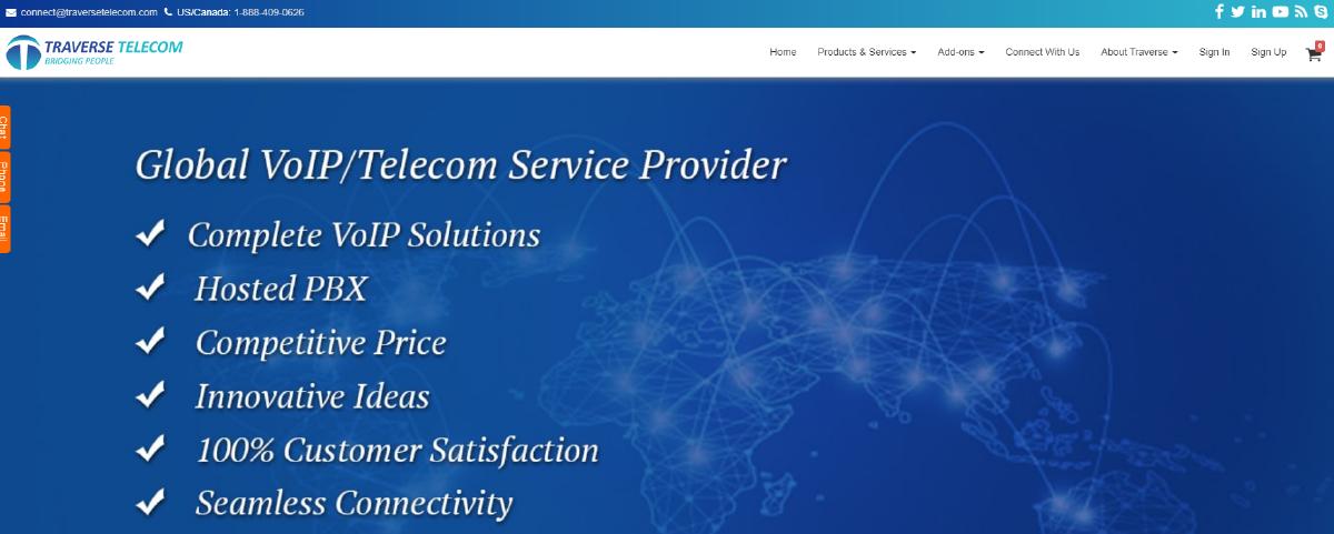 Virtual Phone Number Providers in Canada Traverse telecom