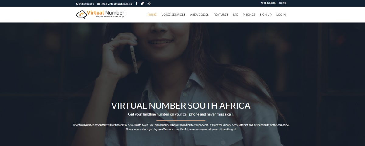 Virtualnumber Virtual Phone Number Providers in South Africa