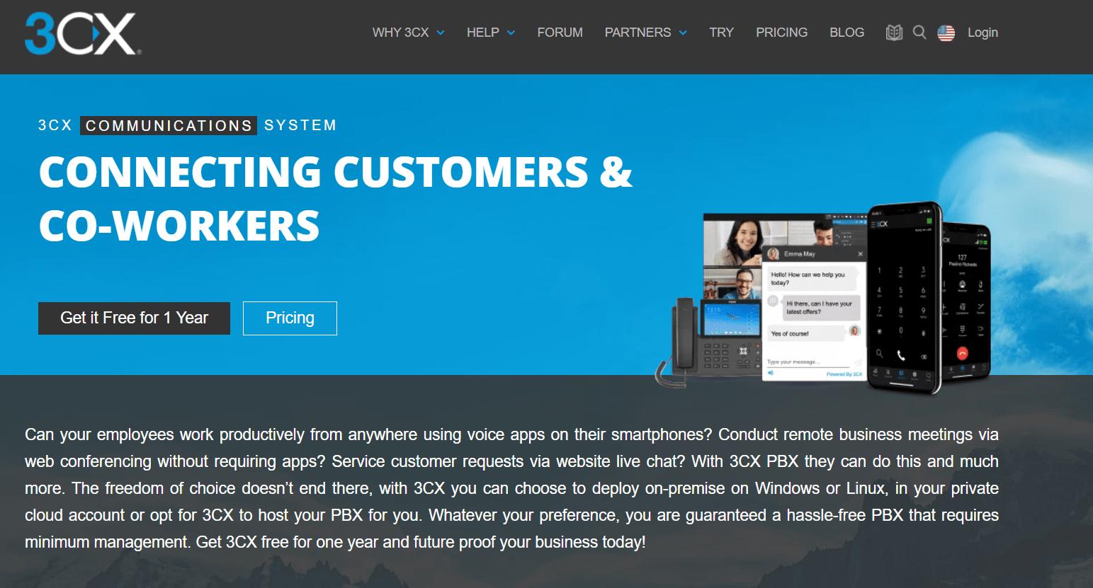 3CX Virtual Phone Number Providers in Australia