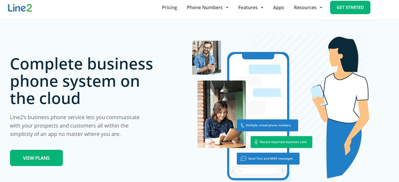 Line2 Virtual Phone Number Providers in Australia