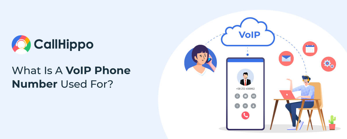 what is a voip phone number used for?