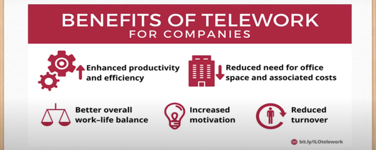 Teleworks for companies