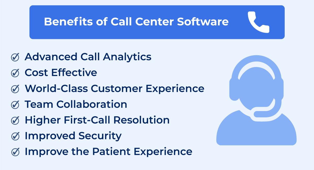 Benefits of call center software