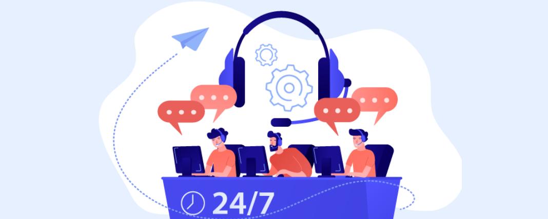 24/7 call center services